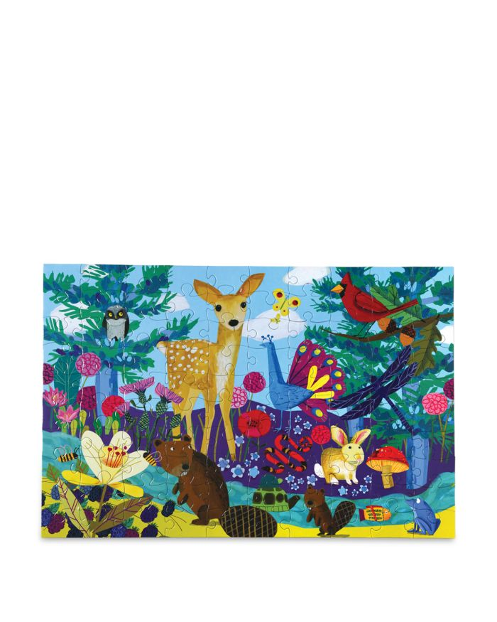 EeBoo 100 Pc. Life On Earth Puzzle - Ages 5+  | Bloomingdale's