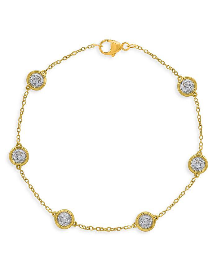 Bloomingdale's - Diamond Bezel Station Bracelet in 14K Yellow Gold, 2.0 ct. t.w. - 100% Exclusive