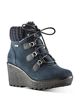 Cougar - Women's Waterproof Wedge Platform Cold Weather Boots