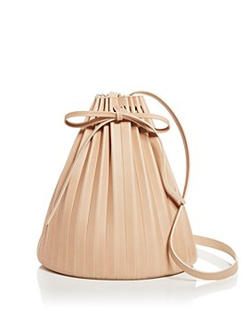 Mansur Gavriel - Pleated Leather Bucket Bag