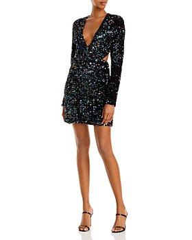 Bardot - Jenny Open Back Sequin Mini Dress