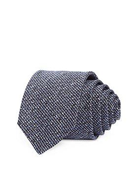 HUGO - Woven Tweed Skinny Tie