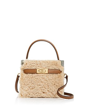 Tory Burch - Lee Radziwill Shearling Petite Satchel