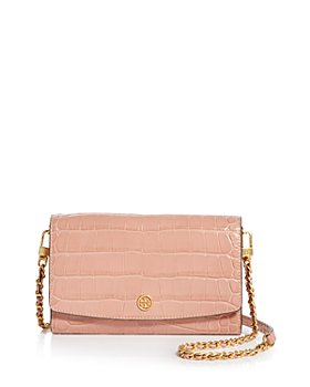 Tory Burch - Robinson Leather Crossbody Chain Wallet
