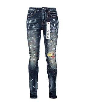Purple Brand - P001 Slim Fit Jeans in Multicolor Stitch Repair