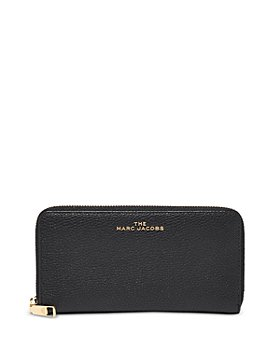 MARC JACOBS - Vertical Zippy Leather Continental Wallet