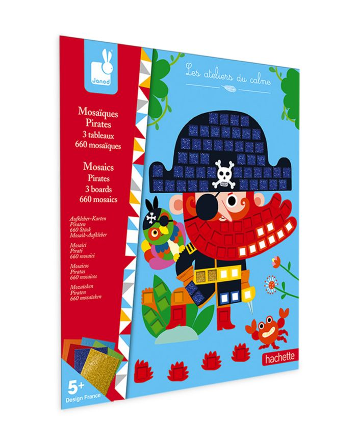 Janod Mosiacs Pirates Kit - Ages 5+    Bloomingdale's