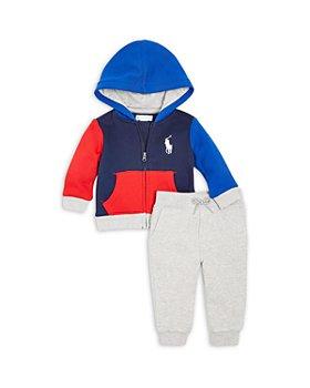 Ralph Lauren - Boys' Zip Hoodie & Joggers Set - Baby