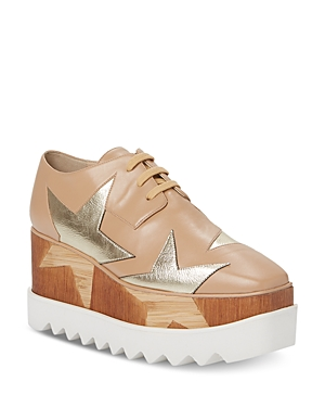 Stella Mccartney Lace-ups STELLA MCCARTNEY WOMEN'S ELYSE LACE UP SNEAKERS