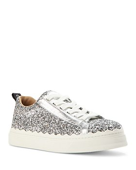 Chloé - Women's Lauren Glitter Low Top Sneakers