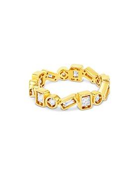 SUZANNE KALAN - 18K Yellow Gold Diamond Band