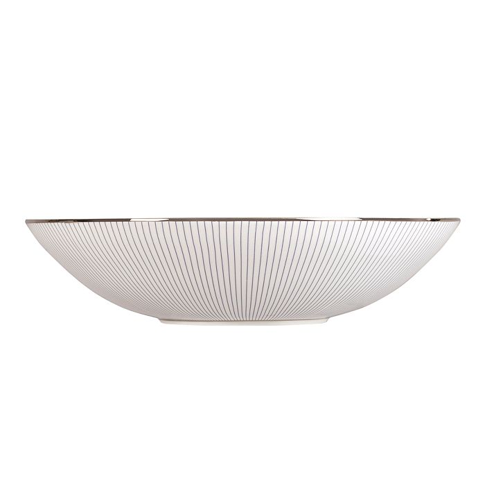 """Wedgwood - """"Blue Pinstripe"""" Cereal Bowl, 7"""""""