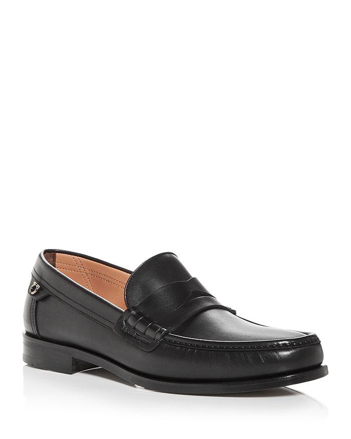 Salvatore Ferragamo - Men's Moc Toe Penny Loafers - Wide