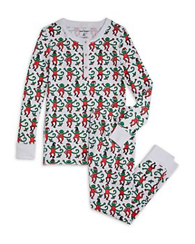 Roller Rabbit - Unisex Monkey Pajama Set - Little Kid, Big Kid