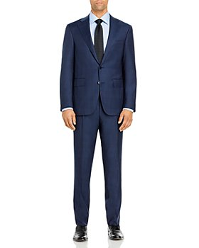 Canali - Capri Tonal Plaid Slim Fit Suit