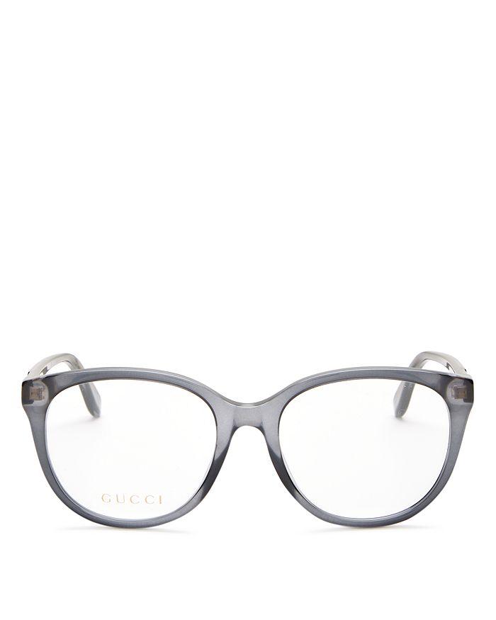 Gucci - Women's Cat Eye Clear Glasses, 53mm