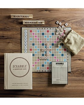 Winning Solutions - Scrabble Vintage Bookshelf Edition
