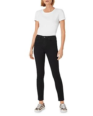 Hobbs London Gia Skinny Jeans in Black