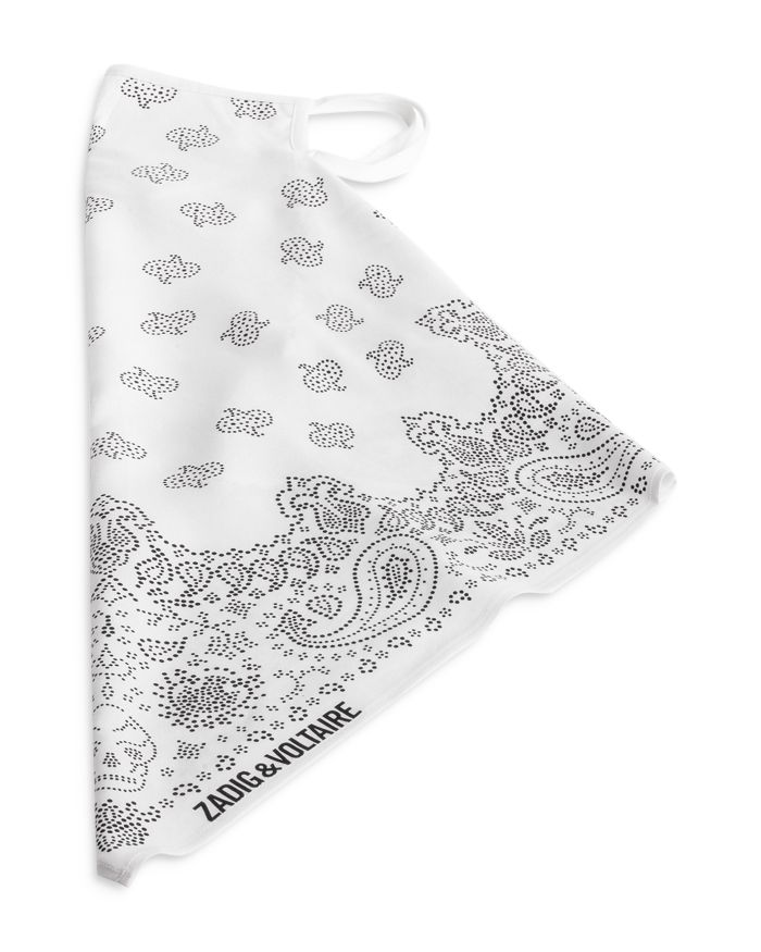 Zadig & Voltaire Bandana Face Mask    Bloomingdale's