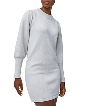 FRENCH CONNECTION - Balloon Sleeve Sweater Dress