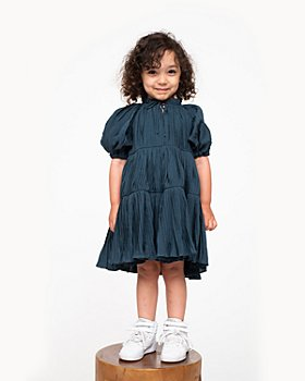 Sea - Girls' Pleated Dress - Little Kid, Big Kid