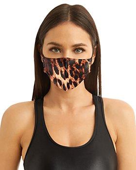 KORAL - Leopard Print Infinity Face Mask