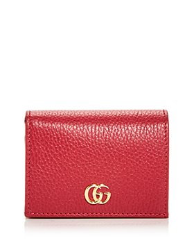 Gucci - Leather Card Case Wallet
