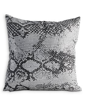 "Global Views - Shimmer Snake Skin Pillow, 20"" x 20"""
