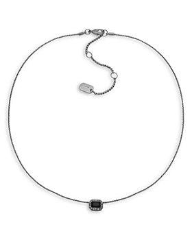 "Ralph Lauren - Emerald-Cut Pendant Necklace, 16"""