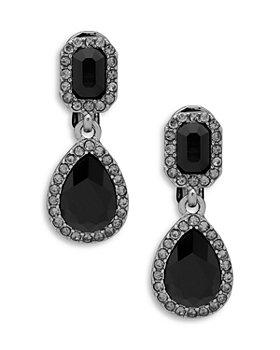 Ralph Lauren - Teardrop & Emerald Cut Drop Earrings