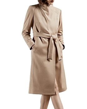 Ted Baker - Midi Wool Wrap Coat