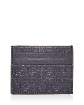 Salvatore Ferragamo - Gancini Embossed Leather Card Case