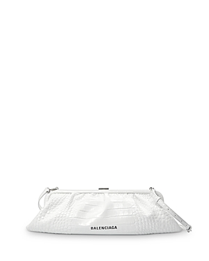 Balenciaga Cloud Xl Leather Clutch-Handbags