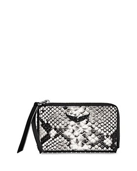 Zadig & Voltaire - Wild Leather Card Holder Pouch