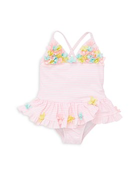 Little Me - Girls' 3D Floral Swimsuit - Baby