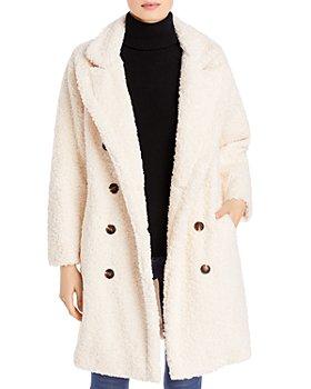 BLANKNYC - Double Breasted Teddy Coat