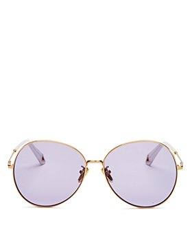 Karen Walker - Women's Round Sunglasses, 61mm