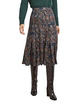 Gerard Darel - Melissa Floral Print Midi Skirt