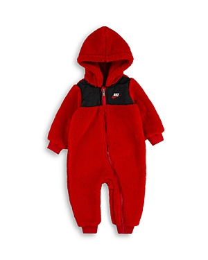 Nike FAUX SHERPA HOODED COVERALL - BABY