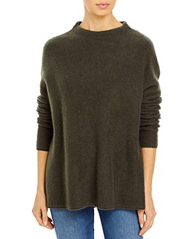 C by Bloomingdale's - Cashmere Mock Neck Sweater - 100% Exclusive