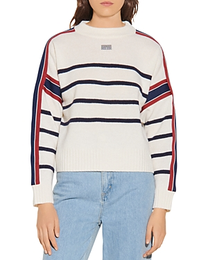 Sandro SAYLOR STRIPED SWEATER