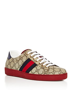 Gucci - Men's Monogram Low Top Sneakers