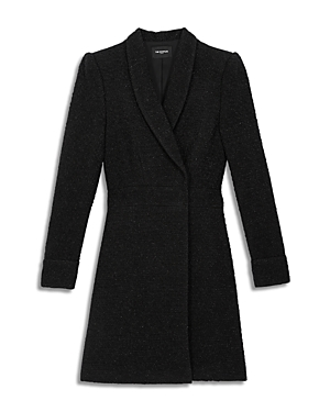 The Kooples TWEED JACKET DRESS
