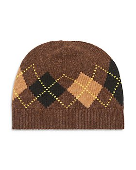 Burberry - Argyle Knit Wool-Cashmere Beanie