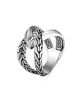 JOHN HARDY - Sterling Silver Classic Chain Knife Edge Statement Ring