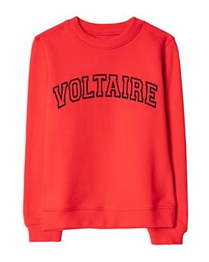 Zadig & Voltaire Boys\\\' Joe Cotton Graphic Sweatshirt - Little Kid, Big Kid-Kids