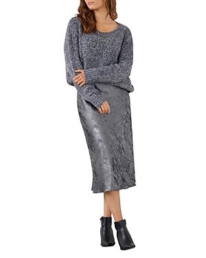 Karen Kane Metallic Midi Skirt