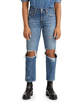 Levi's - 501 Original Cropped Jeans in Athens Ranks
