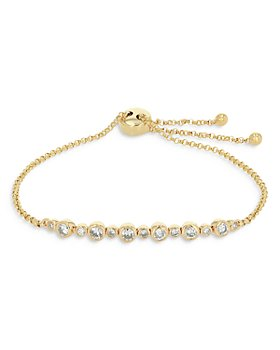 Bloomingdale's - Diamond Bezel Bolo Bracelet in 14K Yellow Gold, 0.56 ct. t.w. - 100% Exclusive