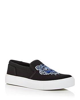 Kenzo - Women's K-Skate Embroidered Slip On Sneakers